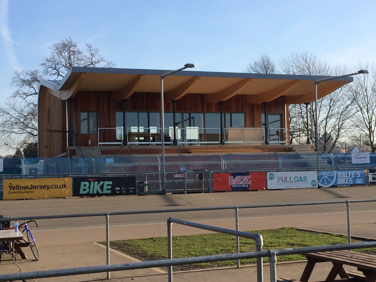 Image result for Herne Hill Velodrome new facilities