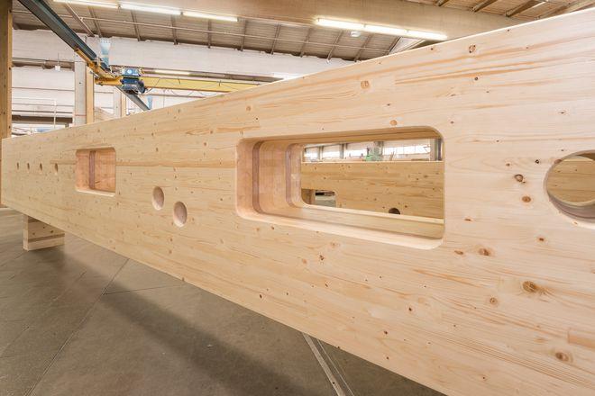 hess timber liefert die bsh konstruktion f r das international house sydney. Black Bedroom Furniture Sets. Home Design Ideas
