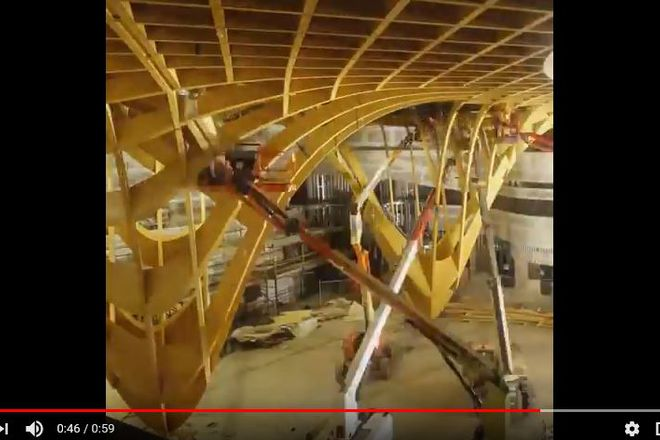"Video: ""Bunjil Place - Roof installation"" (25/10/2017) © Multiplex Australia"