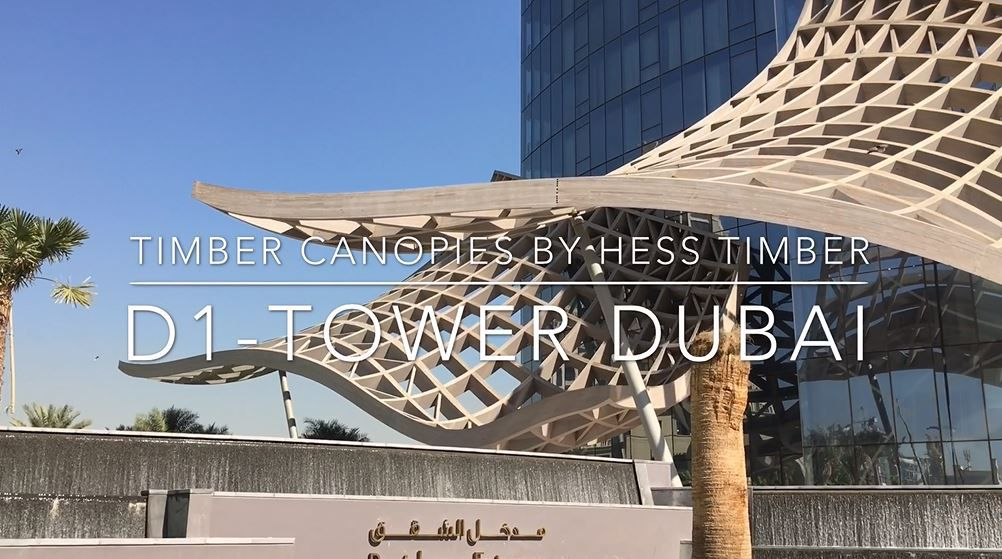 D1-Tower Dubai // HESS TIMBER